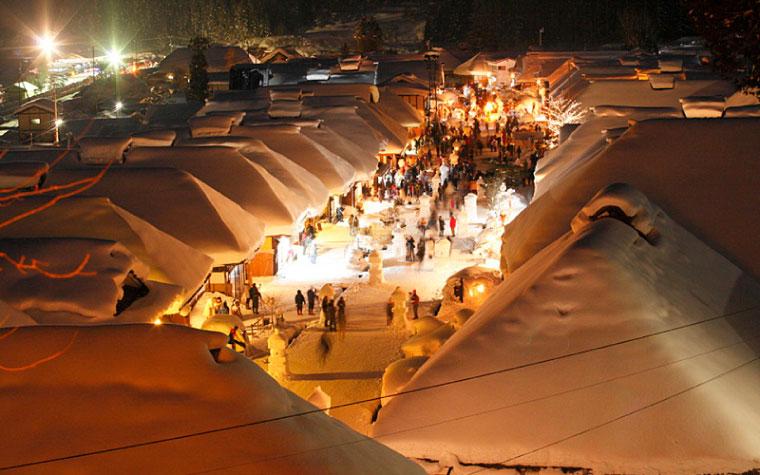 จังหวัดฟุกุชิมะ : หมู่บ้านโออุจิจูกุ