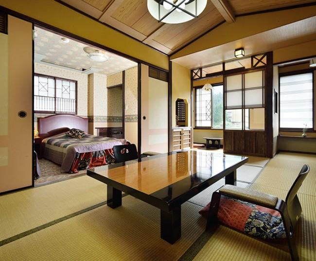 ที่พักญี่ปุ่น Kokonoe Yuyutei Ryokan