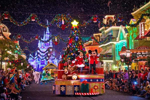 Christmas Tokyo Disneyland