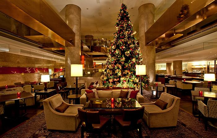 Marble Lounge Hilton Hotel
