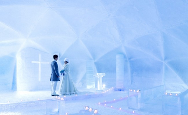 Ice wedding