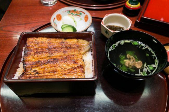 ข้าวหน้าปลาไหล โตเกียว