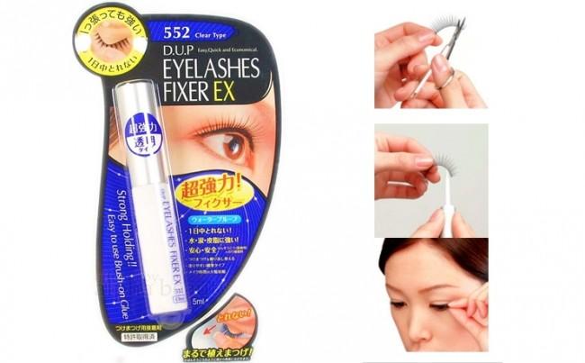 D.U.P Eyelash Fixer EX #552 Clear Tape