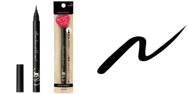 Shiseido Integrate Ultra Slim Liquid Eyeliner Cat Like Eyes Black BK999