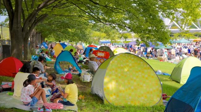 camping at expo park