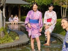 แช่น้ำร้อน ย้อนยุคที่ Oedo Onsen Monogatari