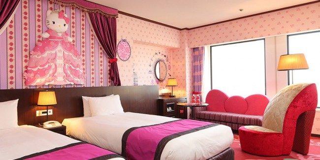 อย่างนี้ก็มีด้วย ! 9 ห้องพักน่ารักสไตล์การ์ตูนใน โรงแรมญี่ปุ่น