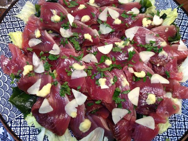 katsuo-sashimi