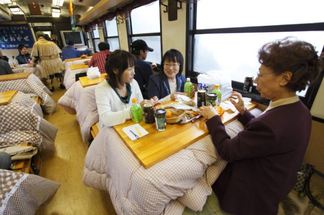 kotatsu train