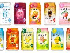 11 suntory horoyoi อร่อยถูกใจคนชอบ Chu-Hi พร้อมรสพิเศษตามฤดู