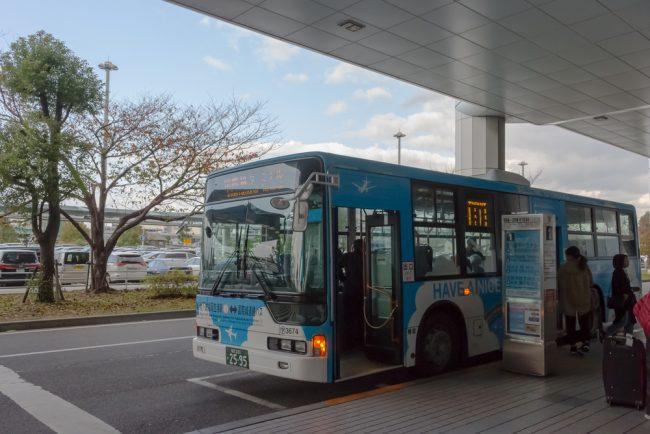 สนามบินฟุกุโอกะเข้าเมือง