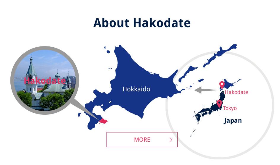 Hakodate Map