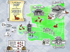 แจก แผนที่ นารา เที่ยวทั่วเมืองประวัติศาสตร์ แบบชิลล์ๆ ด้วยตัวเอง