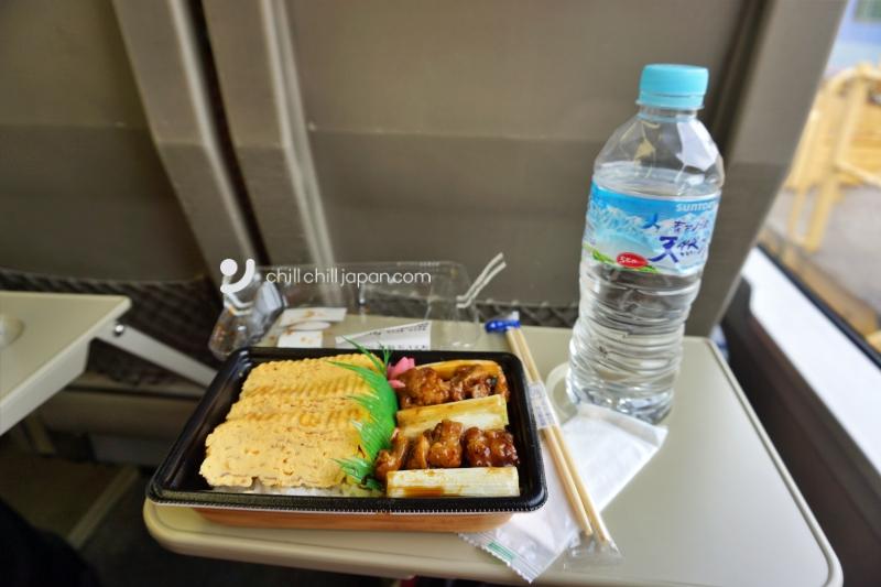 ข้าวกล่องรถไฟ สถานีโตเกียว