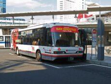 เที่ยวโอไดบะสุดสะดวกด้วย Tokyo bay shuttle bus นั่งฟรี ไม่มีหลง