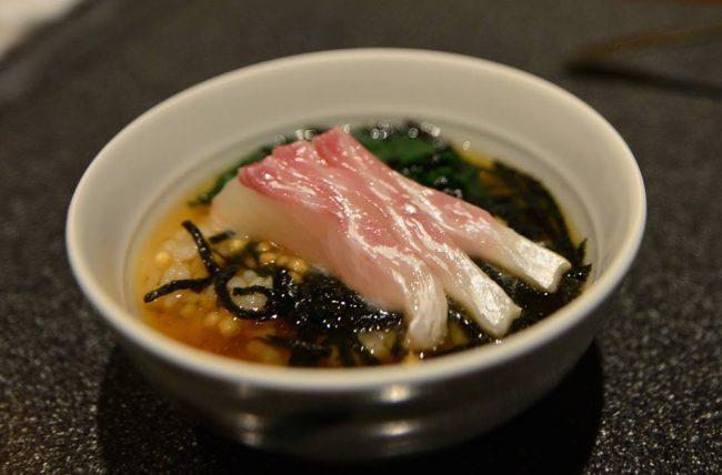 Taicya-tsuke(鯛茶漬け)