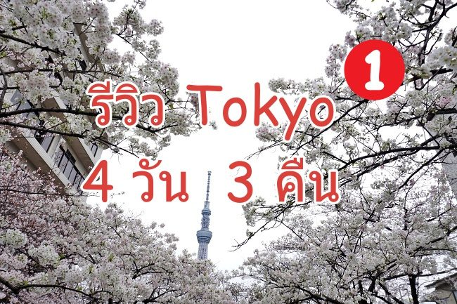 เที่ยวญี่ปุ่น โตเกียว 4 วัน 3 คืน จองง่ายทุกจุด ฟินไม่สะดุดทั้งทริป ตอน 1