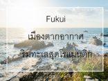 5 ที่เที่ยว ฟุกุอิ เมืองตากอากาศชิคๆ ริมทะเลสุดโรแมนติกのサムネイル