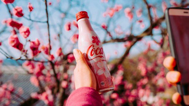 Japan cocacola
