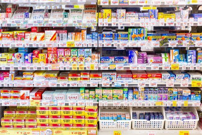 Japan drug store