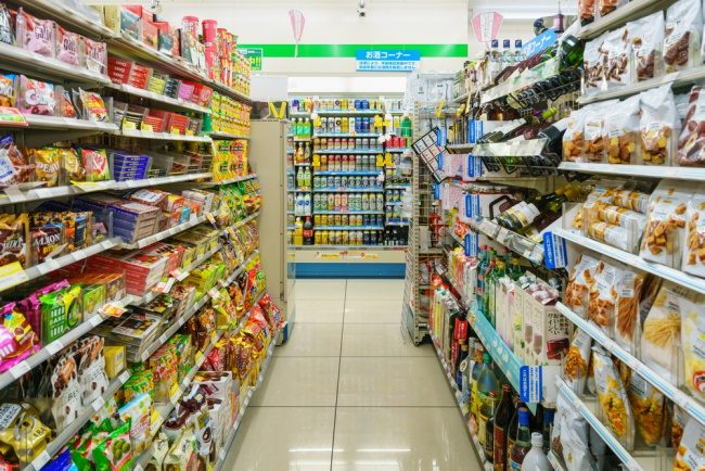 Japan supermarket