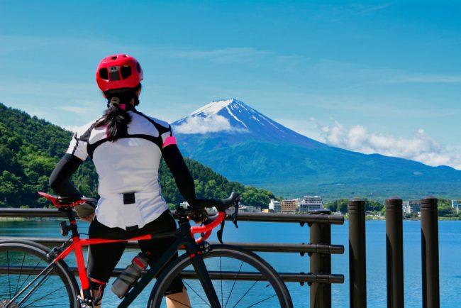 วิวภูเขาไฟฟูจิ