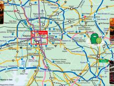 แจก แผนที่ รถไฟ นาโกย่า และเมืองไกล้เคียง วางแผนเที่ยวสบาย ต้องแชร์