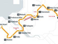 แจก แผนที่โอกินาว่า เดินทางสะดวกทั่วเกาะ ทั้งรถไฟและบัส