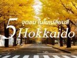 5 จุดชม ใบไม้เปลี่ยนสี ฮอกไกโด สวยก่อนใครที่แรกในญี่ปุ่น!!