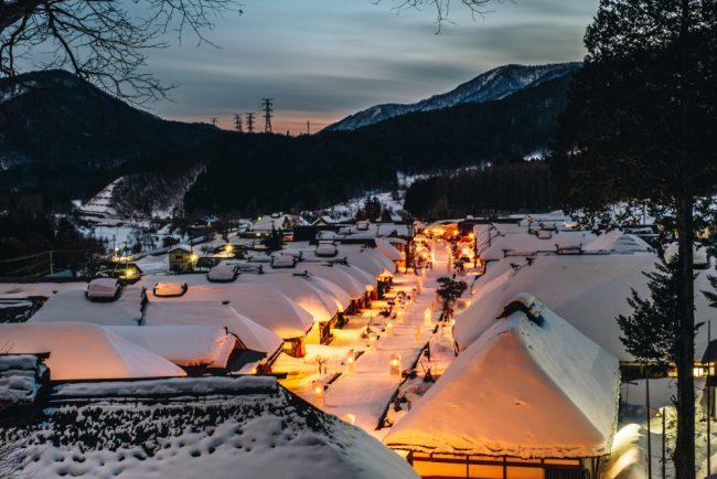 ญี่ปุ่น หิมะตกเดือนไหน