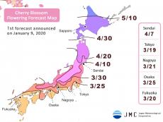 พยากรณ์ ซากุระ ญี่ปุ่น 2020 ใครจะไปฮานามิอย่าพลาด แชร์ให้ว่อง จองให้ไว