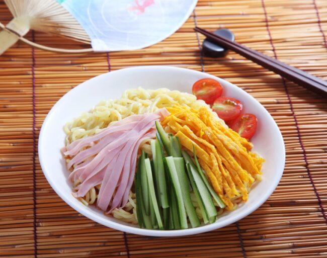 บะหมี่เย็น (ฮิยาชิจูกะ/เรเมน)
