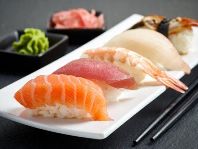 นิกิริซูชิ (Nigiri sushi)