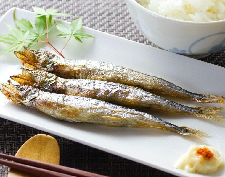 ชิชาโมะ (ปลาไข่)